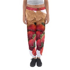 Strawberries Fruit Food Delicious Women s Jogger Sweatpants