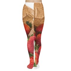 Strawberries Fruit Food Delicious Women s Tights