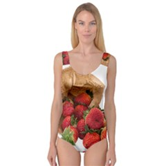 Strawberries Fruit Food Delicious Princess Tank Leotard