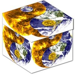 Design Yin Yang Balance Sun Earth Storage Stool 12