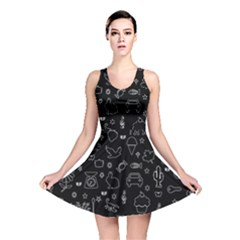 Rebus Reversible Skater Dress