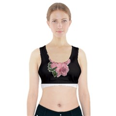 Orchid Sports Bra With Pocket