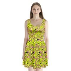 Bubble Fun 17d Split Back Mini Dress