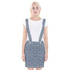 Geometric Luxury Ornate Braces Suspender Skirt