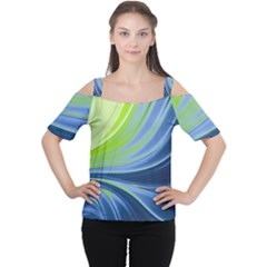 Colors Women s Cutout Shoulder Tee