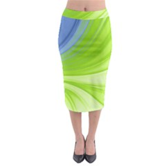 Colors Midi Pencil Skirt