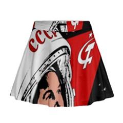 Valentina Tereshkova Mini Flare Skirt