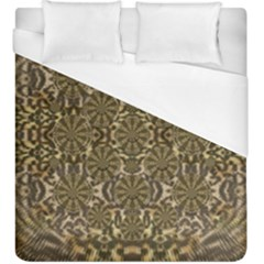 A Big Kitten I Am And Soft Duvet Cover (king Size)