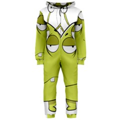 The Most Ugly Alien Ever Hooded Jumpsuit (ladies)