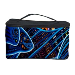Fish Out Of Water Monster Space Rainbow Circle Polka Line Wave Chevron Star Cosmetic Storage Case