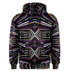 Dark Ethnic Sharp Bold Pattern Men s Pullover Hoodie