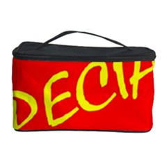 Special Sale Spot Red Yellow Polka Cosmetic Storage Case