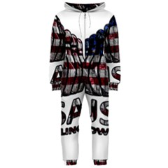Usa Bowling  Hooded Jumpsuit (ladies)