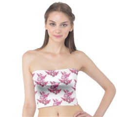 Colorful Cute Floral Design Pattern Tube Top