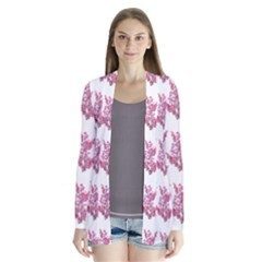 Colorful Cute Floral Design Pattern Cardigans