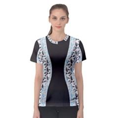 Geometric Pattern 235 170507 Women s Sport Mesh Tee