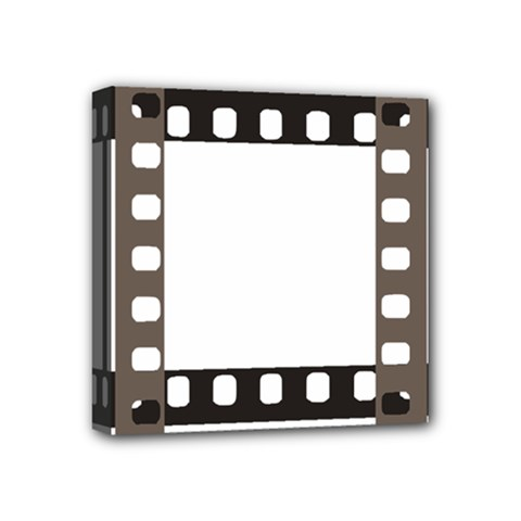 Frame Decorative Movie Cinema Mini Canvas 4  x 4
