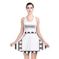 Frame Decorative Movie Cinema Reversible Skater Dress
