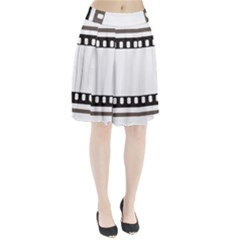 Frame Decorative Movie Cinema Pleated Skirt