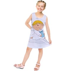 Angel Baby Bottle Cute Sweet Kids  Tunic Dress