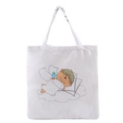 Sweet Dreams Angel Baby Cartoon Grocery Tote Bag