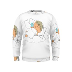 Sweet Dreams Angel Baby Cartoon Kids  Sweatshirt