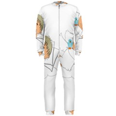 Sweet Dreams Angel Baby Cartoon Onepiece Jumpsuit (men)