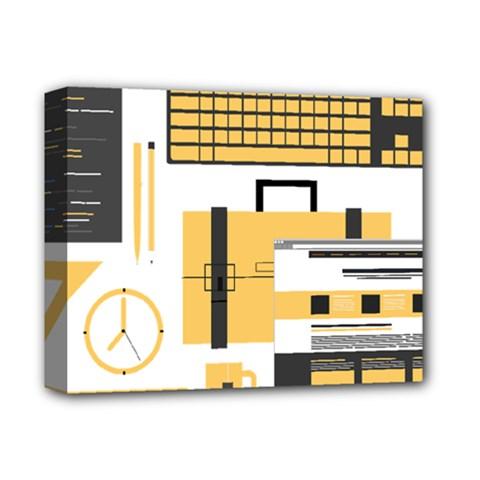 Web Design Mockup Web Developer Deluxe Canvas 14  X 11