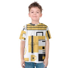 Web Design Mockup Web Developer Kids  Cotton Tee