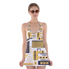 Web Design Mockup Web Developer Halter Swimsuit Dress