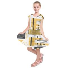 Web Design Mockup Web Developer Kids  Short Sleeve Dress