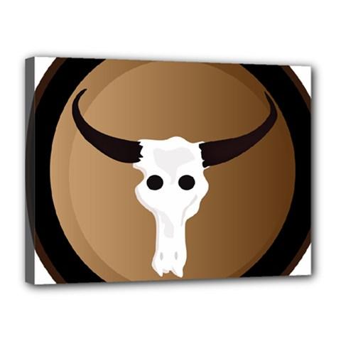Logo The Cow Animals Canvas 16  x 12