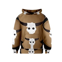 Logo The Cow Animals Kids  Pullover Hoodie