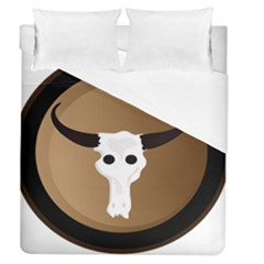 Logo The Cow Animals Duvet Cover (queen Size)