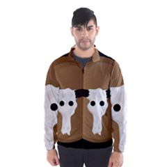 Logo The Cow Animals Wind Breaker (Men)