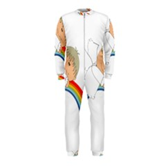 Angel Rainbow Cute Cartoon Angelic Onepiece Jumpsuit (kids)