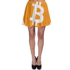 Bitcoin Cryptocurrency Currency Skater Skirt
