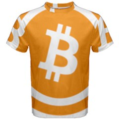 Bitcoin Cryptocurrency Currency Men s Cotton Tee