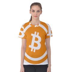 Bitcoin Cryptocurrency Currency Women s Cotton Tee