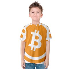 Bitcoin Cryptocurrency Currency Kids  Cotton Tee