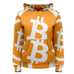 Bitcoin Cryptocurrency Currency Women s Pullover Hoodie