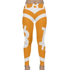 Bitcoin Cryptocurrency Currency Classic Yoga Leggings