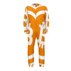 Bitcoin Cryptocurrency Currency OnePiece Jumpsuit (Kids)