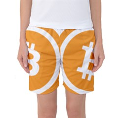 Bitcoin Cryptocurrency Currency Women s Basketball Shorts