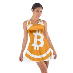 Bitcoin Cryptocurrency Currency Cotton Racerback Dress