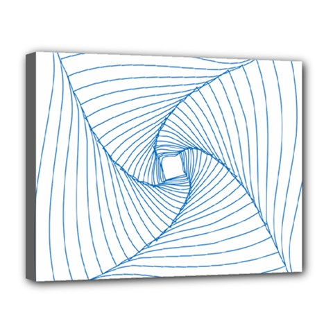 Spirograph Pattern Drawing Design Canvas 14  X 11