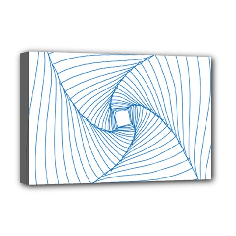 Spirograph Pattern Drawing Design Deluxe Canvas 18  x 12