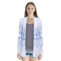 Spirograph Pattern Drawing Design Cardigans