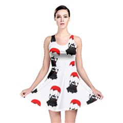 Pattern Sheep Parachute Children Reversible Skater Dress
