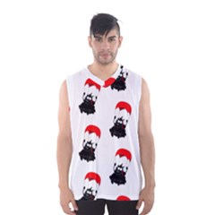 Pattern Sheep Parachute Children Men s Basketball Tank Top